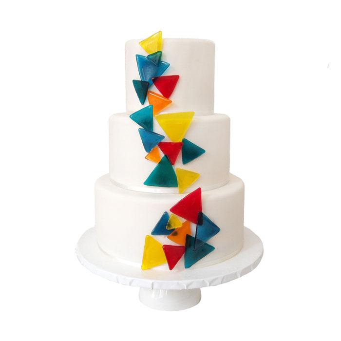 Geometric || Sugarlips Cakes || www.SugarlipsCakes.com