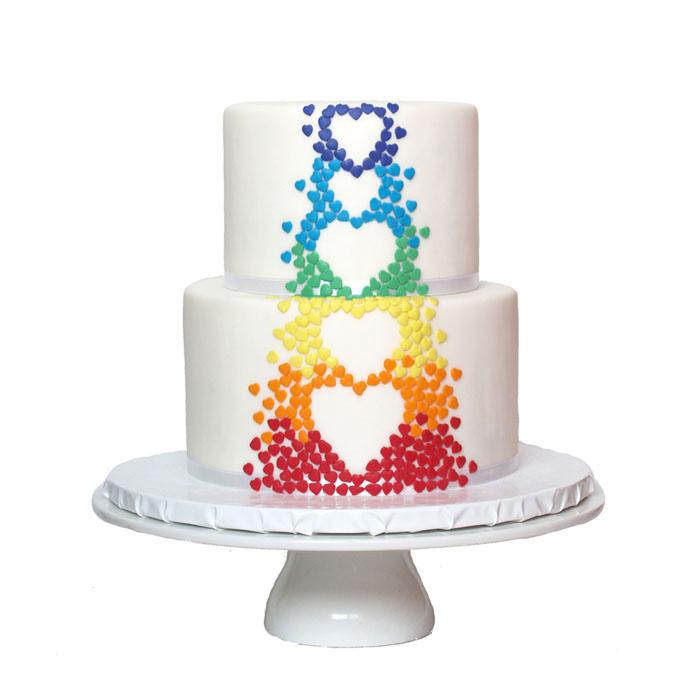 Rainbow || Sugarlips Cakes || www.SugarlipsCakes.com