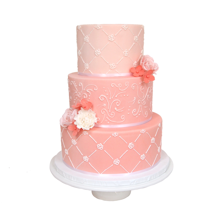 Ombre Pipping|| Sugarlips Cakes || www.SugarlipsCakes.com