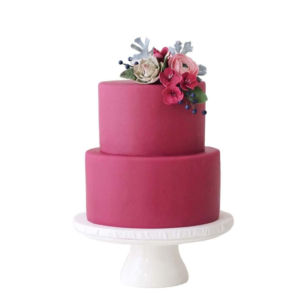 Raspberry Red || Sugarlips Cakes || www.SugarlipsCakes.com