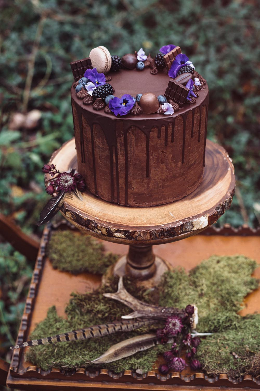 Chocolate Drip Cake || Photo by Madame Poppy