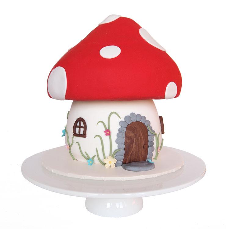 Fairytale Mushroom Birthday Cake